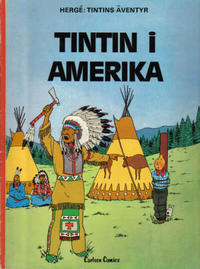 Cover Thumbnail for Tintins äventyr (Carlsen/if [SE], 1972 series) #19 - Tintin i Amerika
