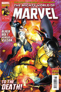 Cover Thumbnail for The Mighty World of Marvel (Panini UK, 2009 series) #18