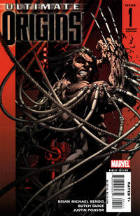 Cover Thumbnail for Ultimate Origins (Marvel, 2008 series) #1 [Variant Edition - Michael Turner]