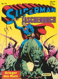 Cover Thumbnail for Superman Taschenbuch (Egmont Ehapa, 1976 series) #74