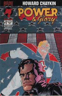 Cover Thumbnail for Power & Glory (Malibu, 1994 series) #1 [Serigraph Edition]