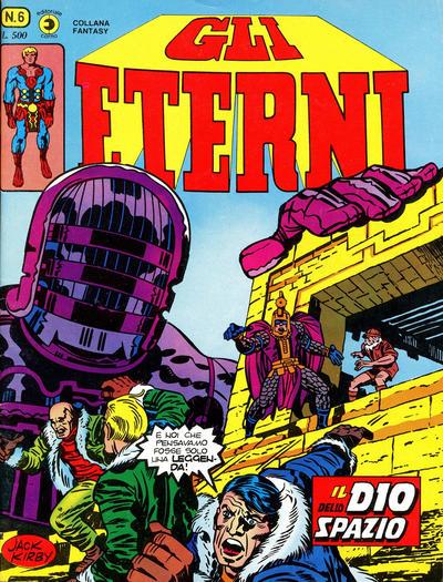 Cover for Gli Eterni (Editoriale Corno, 1978 series) #6