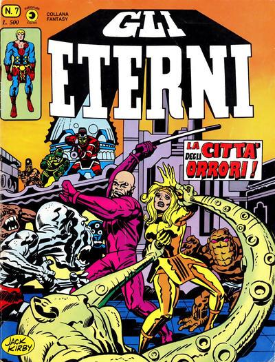 Cover for Gli Eterni (Editoriale Corno, 1978 series) #7