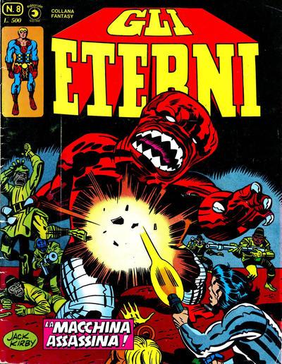 Cover for Gli Eterni (Editoriale Corno, 1978 series) #8