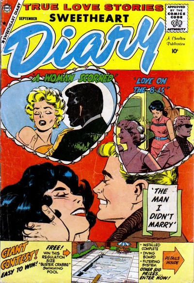 Cover for Sweetheart Diary (Charlton, 1955 series) #48