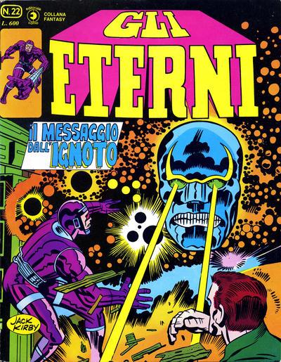 Cover for Gli Eterni (Editoriale Corno, 1978 series) #22