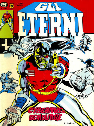 Cover for Gli Eterni (Editoriale Corno, 1978 series) #23