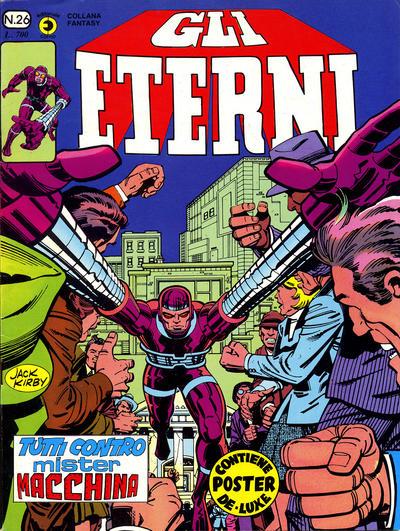 Cover for Gli Eterni (Editoriale Corno, 1978 series) #26