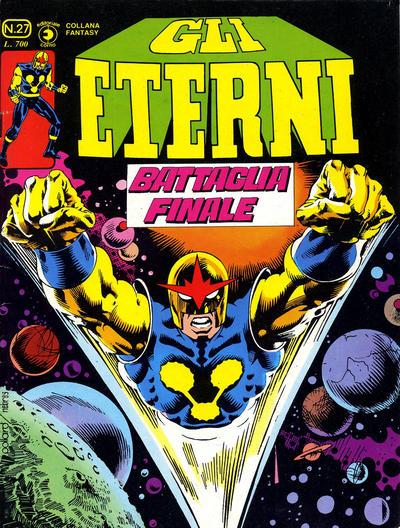 Cover for Gli Eterni (Editoriale Corno, 1978 series) #27