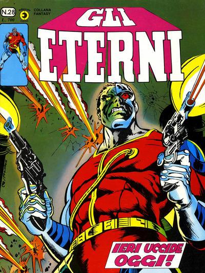 Cover for Gli Eterni (Editoriale Corno, 1978 series) #28