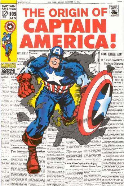 Cover for Captain America #109 [JC Penney Marvel Vintage Pack] (Marvel, 1994 series) #[nn]
