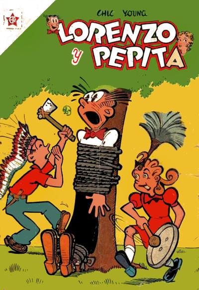Cover for Lorenzo y Pepita (Editorial Novaro, 1954 series) #40