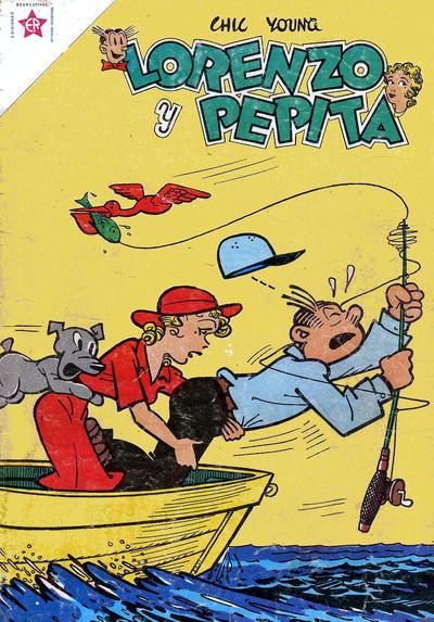 Cover for Lorenzo y Pepita (Editorial Novaro, 1954 series) #120