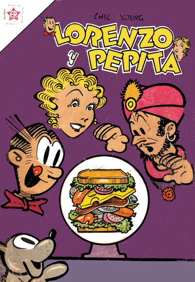 Cover for Lorenzo y Pepita (Editorial Novaro, 1954 series) #122
