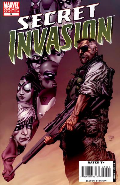 Cover for Secret Invasion (Marvel, 2008 series) #3