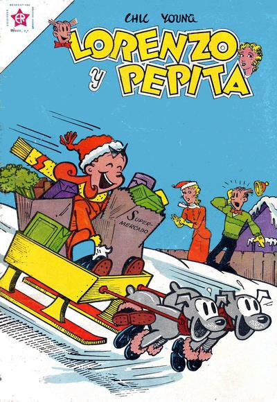 Cover for Lorenzo y Pepita (Editorial Novaro, 1954 series) #158