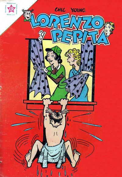 Cover for Lorenzo y Pepita (Editorial Novaro, 1954 series) #164