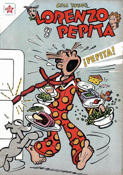 Cover for Lorenzo y Pepita (Editorial Novaro, 1954 series) #168
