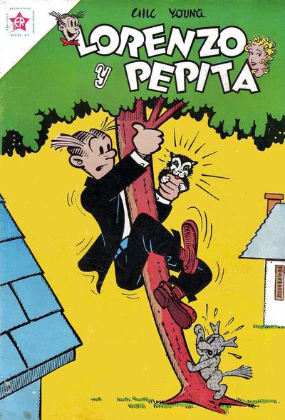 Cover for Lorenzo y Pepita (Editorial Novaro, 1954 series) #179