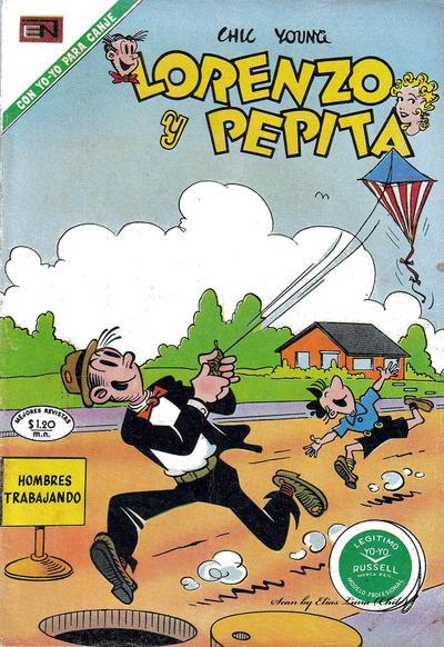 Cover for Lorenzo y Pepita (Editorial Novaro, 1954 series) #346