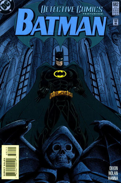 Cover for Detective Comics (DC, 1937 series) #682 [Direct Sales]