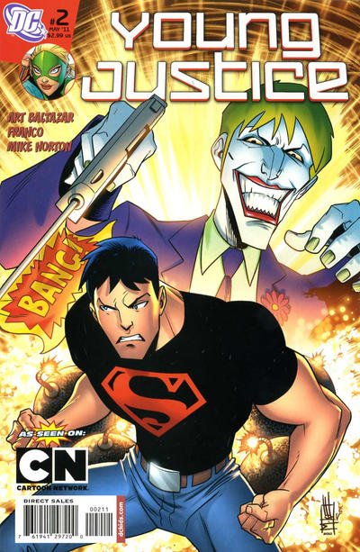 Cover for Young Justice (DC, 2011 series) #2