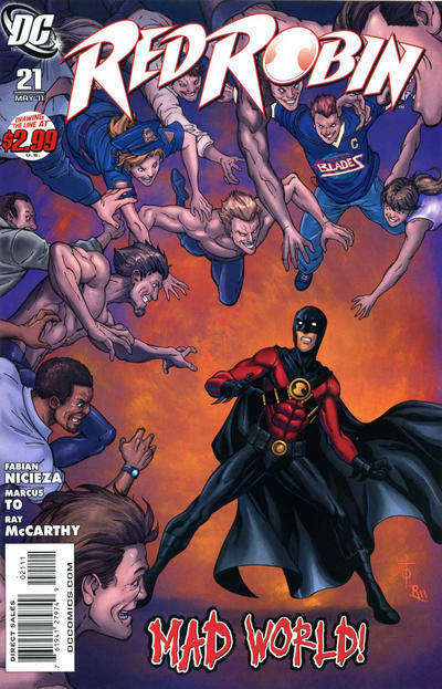Cover for Red Robin (DC, 2009 series) #21