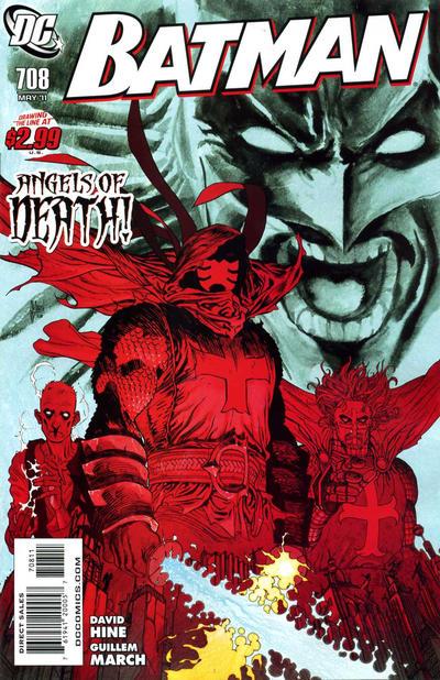 Cover for Batman (DC, 1940 series) #708
