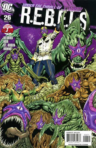 Cover for R.E.B.E.L.S. (DC, 2009 series) #26