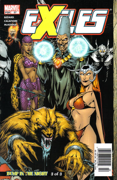 Cover for Exiles (Marvel, 2001 series) #57 [Direct Edition]