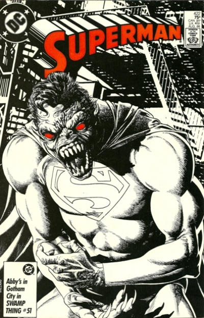 Cover for Superman (DC, 1939 series) #422 [Direct Sales]