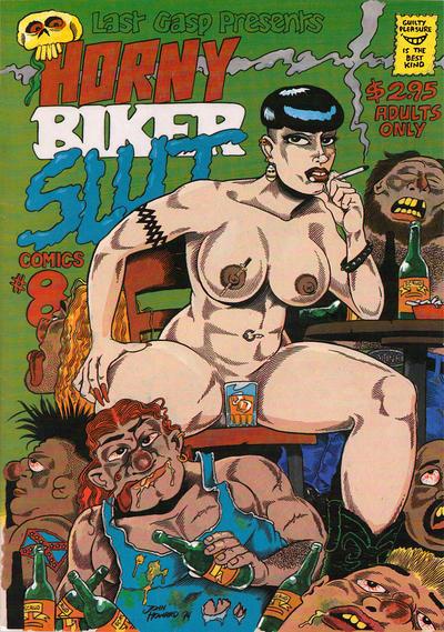 Cover for Horny Biker Slut Comics (Last Gasp, 1990 series) #8