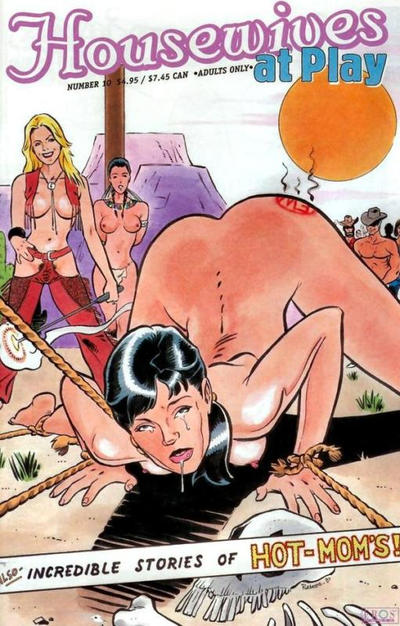 Cover for Housewives at Play (Fantagraphics, 1999 series) #10