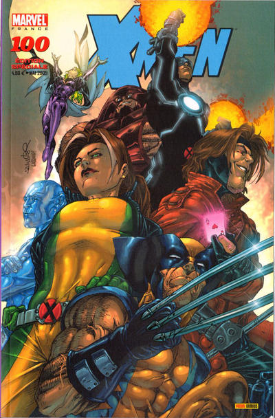 Cover for X-Men (Panini France, 1997 series) #100