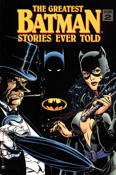Cover for The Greatest Batman Stories Ever Told (Warner Books, 1989 series) #2