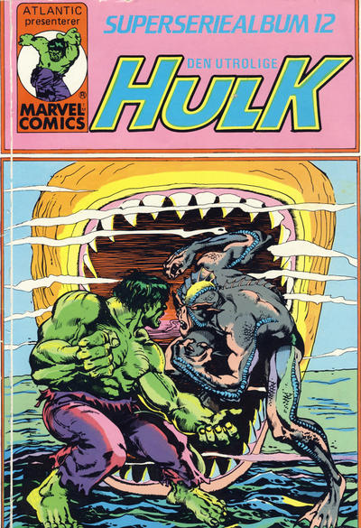 Cover for Hulk album (Atlantic Forlag, 1979 series) #12