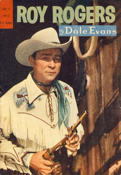 Cover for Roy Rogers (Serieforlaget / Se-Bladene / Stabenfeldt, 1954 series) #2/1957