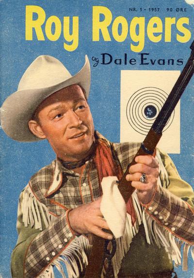 Cover for Roy Rogers (Serieforlaget / Se-Bladene / Stabenfeldt, 1954 series) #1/1957
