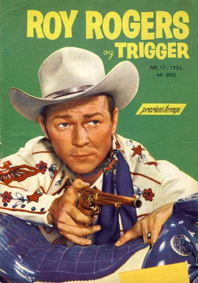 Cover for Roy Rogers (Serieforlaget / Se-Bladene / Stabenfeldt, 1954 series) #17/1956