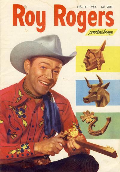 Cover for Roy Rogers (Serieforlaget / Se-Bladene / Stabenfeldt, 1954 series) #16/1956