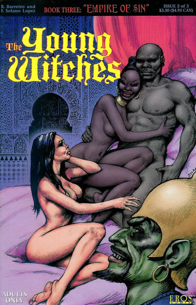 Cover for Young Witches III: Empire of Sin (Fantagraphics, 1998 series) #2