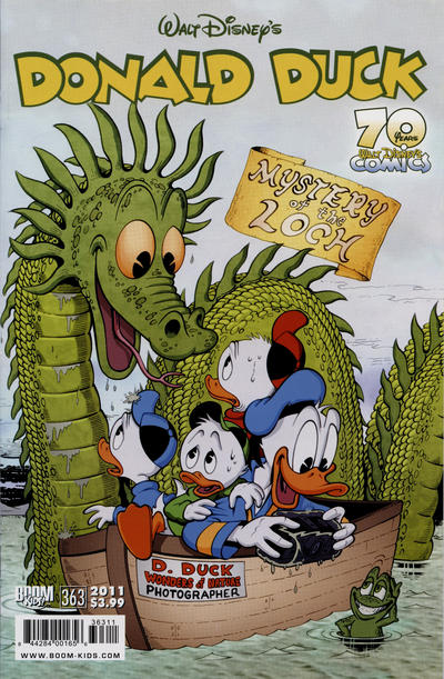 Cover for Donald Duck (Boom! Studios, 2011 series) #363 [Retailer Incentive]