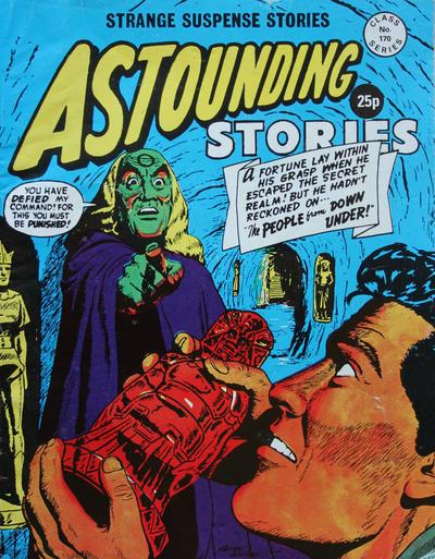 Cover for Astounding Stories (Alan Class, 1966 series) #170