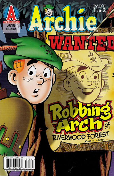 Cover for Archie (Archie, 1959 series) #618