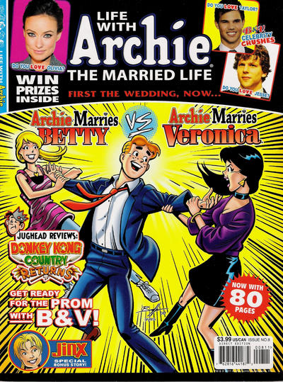 Cover for Life with Archie (Archie, 2010 series) #8