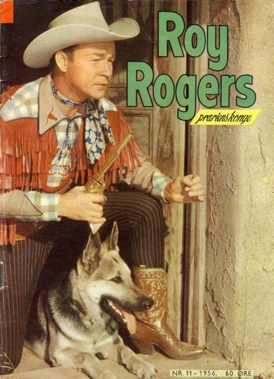 Cover for Roy Rogers (Serieforlaget / Se-Bladene / Stabenfeldt, 1954 series) #11/1956