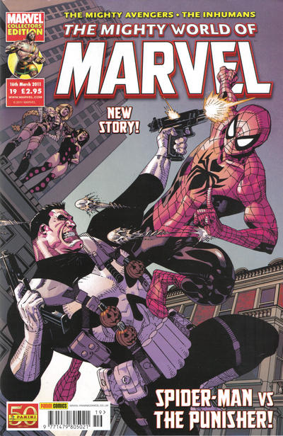 Cover for The Mighty World of Marvel (Panini UK, 2009 series) #19