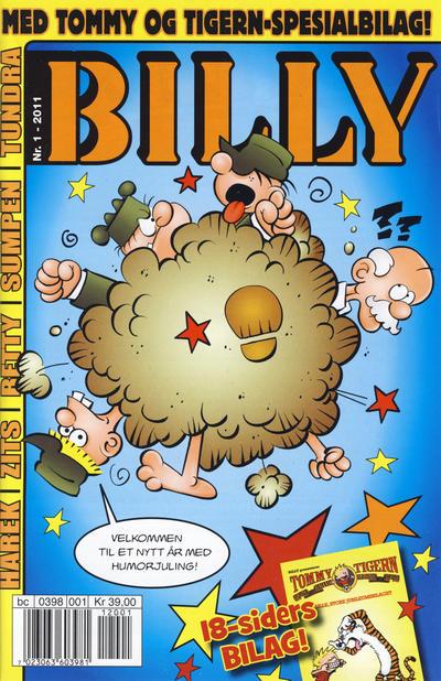 Cover for Billy (Hjemmet / Egmont, 1998 series) #1/2011