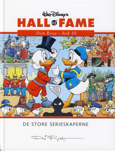 Cover for Hall of Fame (Hjemmet / Egmont, 2004 series) #[36] - Don Rosa 10