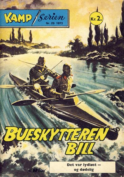 Cover for Kamp-serien (Serieforlaget / Se-Bladene / Stabenfeldt, 1964 series) #29/1973